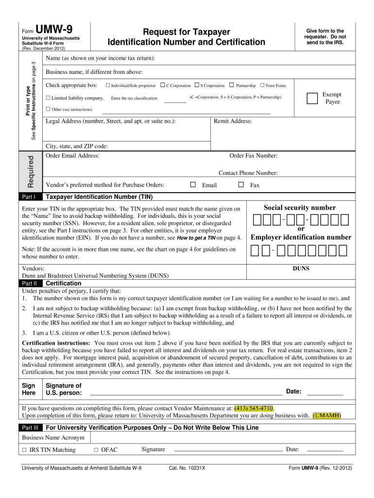 W9 Form 2021 Printable Pdf